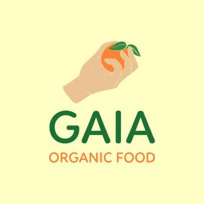 Free Logo Generator for an Organic Food Marketplace 3696u