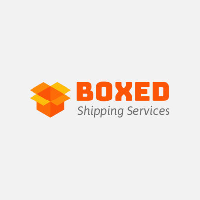 Minimalist Free Logo Template for a Shipping Services Company 3696n