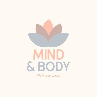 Minimalist Free Logo Creator for a Wellness-Related Service 3696x