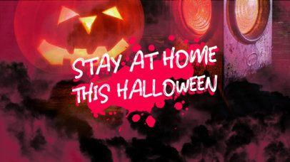 YouTube Thumbnail Creator with a Lockdown Halloween-Theme 2969b