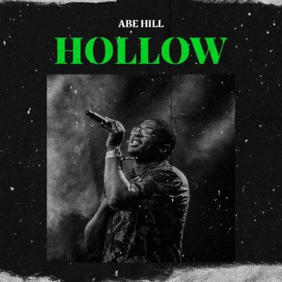 Album Cover Design Template for an R&B Singer 2984j