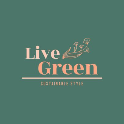 Logo Maker for an Ecological Clothing Brand 3631b