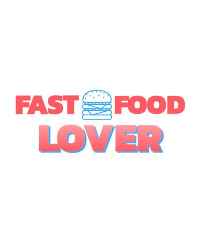 T-Shirt Design Creator for Fast Food Enthusiasts 2980b