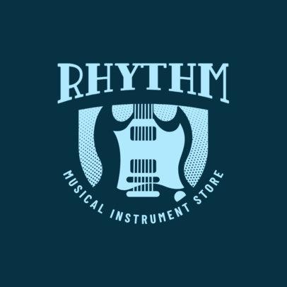 Online Logo Maker for a Musical Instrument Store 3704e