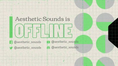 Twitch Offline Banner Maker with a Retro-Looking Aesthetic 3019d