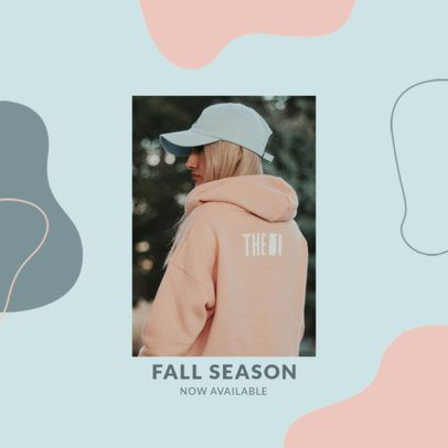 Fashion-Themed Instagram Post Generator for a Fall Collection Announcement 3002b-el1