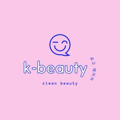 Minimalistic Logo Template for a Korean Beauty Dropshipper 3725