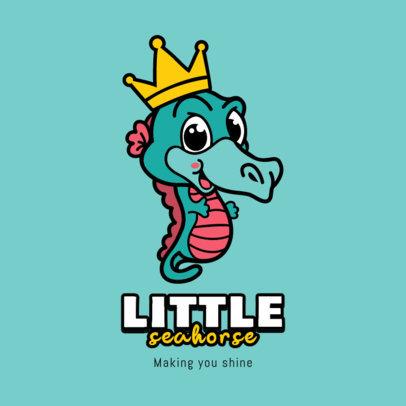 Kids' Fashion Logo Maker Featuring Cute Animals 3055-el1