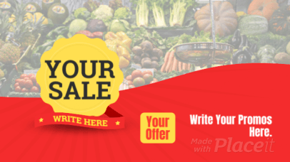 YouTube Ad Template for a Special Sale Announcement 2342-el1