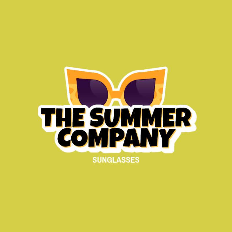 Retro Logo Maker for a Sunglasses Dropshipping Business 3745d