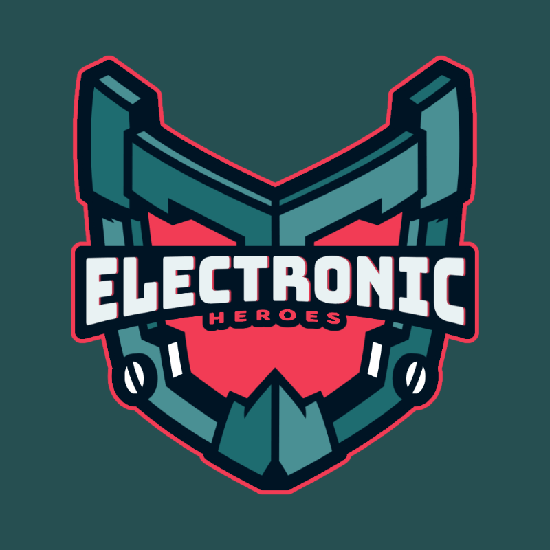 Battle-Themed Logo Maker for Gamers with a Shield Icon 3757c