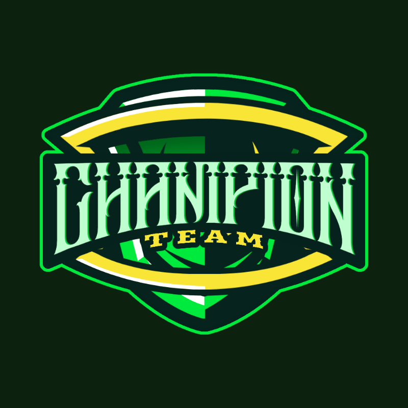 Gaming Team Logo Maker with an Alien Shield Graphic 3757f