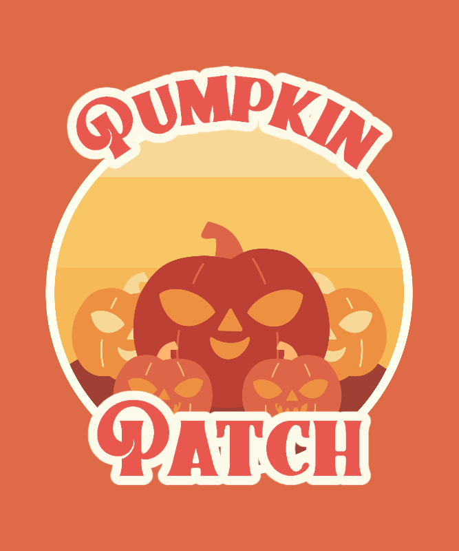 Halloween T-Shirt Design Maker with a Vintage-Looking Graphic 3044g