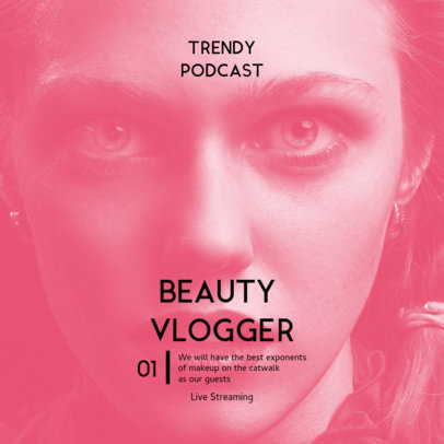 Podcast Cover Maker to Publicize Beauty Trends 3064e-el1