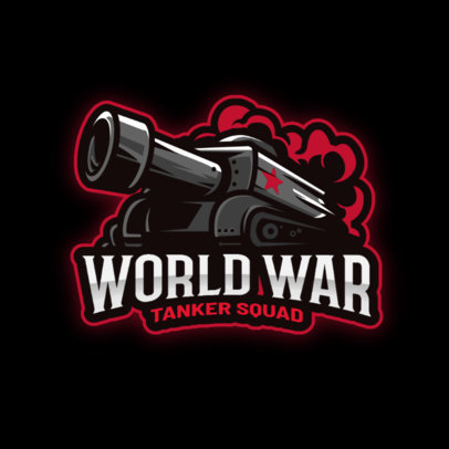 Logo Maker for a World of Tanks-Inspired Gaming Clan 3124a-el1