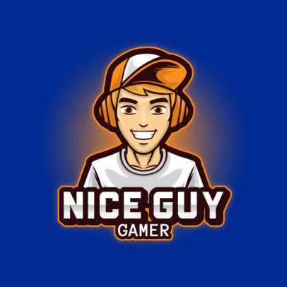 Online Logo Generator Featuring a Young Gamer with a Hat 3120d-el1