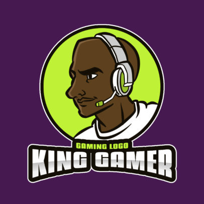 Logo Creator Featuring a Colorful Gamer's Illustration 3118d-el1