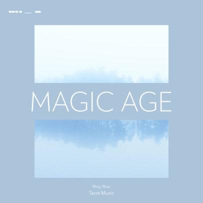 Mixtape Cover Template for Instrumental Music Artists 3114e-el1