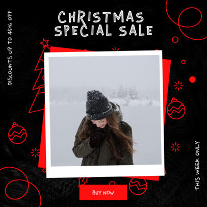 Instagram Post Creator with a Special Christmas Sale 3086c