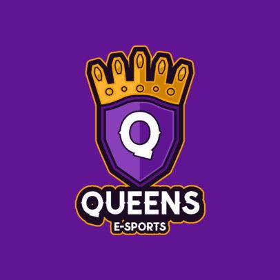 Online Logo Maker for Gaming Queens 3116e-el1