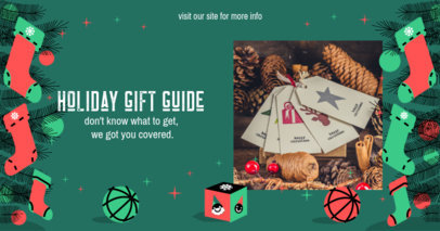 Facebook Post Creator for a Holiday Gift Guide 3089d