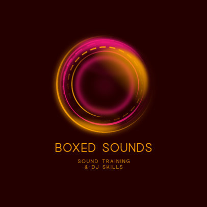 Modern Logo Maker for a DJ & Sound Producer 3784a