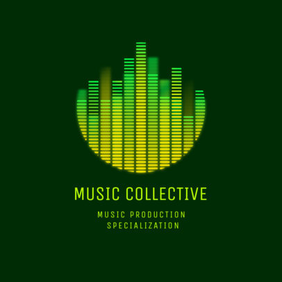 Logo Maker for a Music Production Collective 3784b