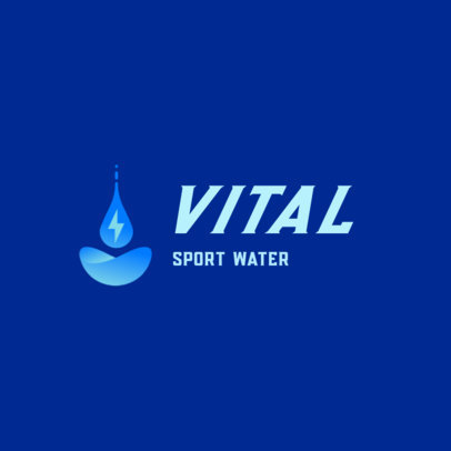 MLM Logo Template for a Sport Water Company 3831a