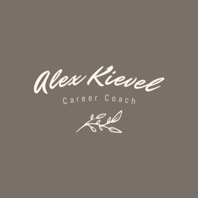 Logo Maker for Career Coaches Featuring a Handwritten Font 3788h
