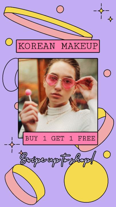 Instagram Story Creator for a Korean Makeup Brand 3170e