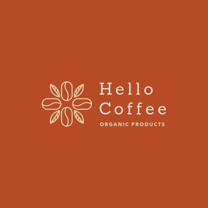 Network Marketing Logo Creator with Coffee Bean Graphics 3851b