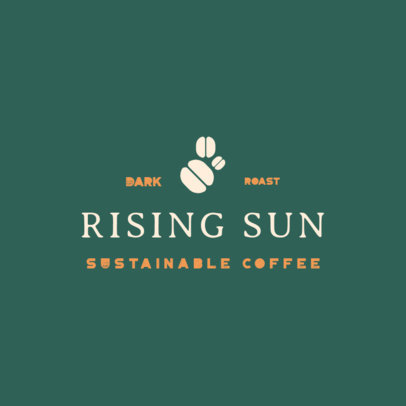 Logo Creator for a Sustainable Coffee Brand with Minimal Graphics 3852b