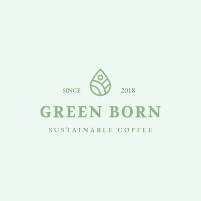 MLM Logo Generator for a Sustainable Coffee Company 3852i
