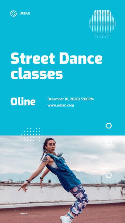 Trendy Instagram Story Design Maker for a Street Dance Course 3240e-el1