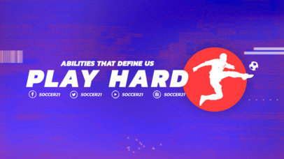 Twitch Offline Banner Maker for Sports Channels 3192