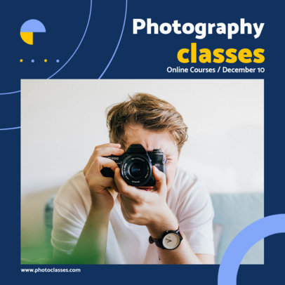Minimalist Instagram Post Maker for a Photography Class 3248-el1