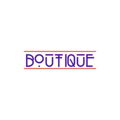 Minimalist Logo Maker for a Modern Boutique 3866f