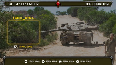 Twitch Overlay Maker Inspired by World of Tanks 3225