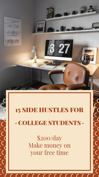 Instagram Story Maker with Side Hustle Ideas for Students 3234e