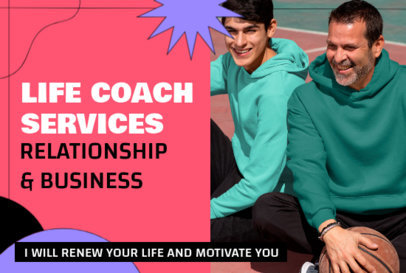 Fiverr Gig Image Maker for a Life Coach 3239b