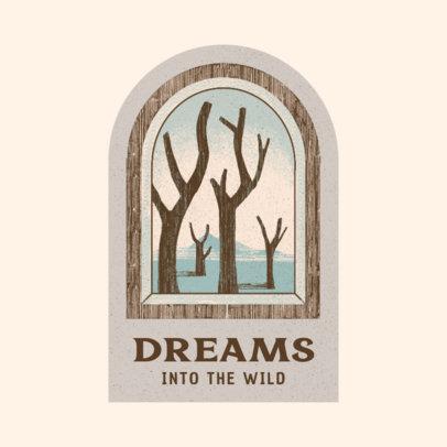 Online Logo Maker With a Dreamlike Landscape Illustration 3910c
