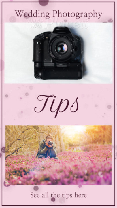 Instagram Story Video Maker for Wedding Photography Tips 2583