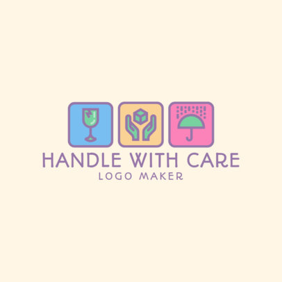 Music Logo Maker Featuring Packaging Symbols 3939