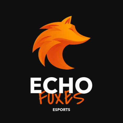 eSports Team Logo Maker with Abstract Graphics of Animals 3348-el1