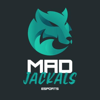 eSports Mascot Logo Template With a Minimalistic Graphic 3348d-el1