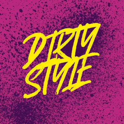 Online Logo Creator Featuring Colorful Graffiti Fonts 3975e