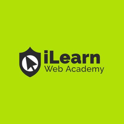 Logo Generator for a Web Academy 3979e