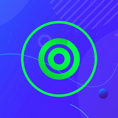 Patreon Profile Picture Generator With Neon Abstract Graphics 3392b-el1