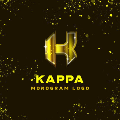 Monogram Logo Maker with Trendy Typography 4013c