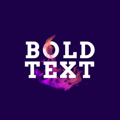 Abstract Logo Maker Featuring Bold Typographies and Modern Graphics 4030